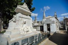 Mening van het graf van President Carlos Pellegrini Stock Foto's