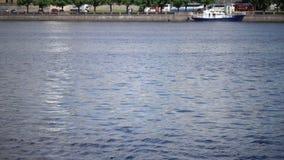 Mening van het Kasteel van Riga - de woonplaats van Voorzitter van de Oude Stad van Letland, Riga, Letland stock videobeelden
