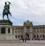 Mening van het Keizerpaleis, Wenen Royalty-vrije Stock Foto's