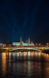 Mening van het Kremlin royalty-vrije stock fotografie