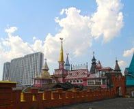 Mening van het Kremlin in Izmailovo stock afbeeldingen