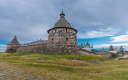 Mening van het Kremlin van de toren Korozhnaya Stock Fotografie