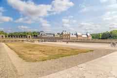 Mening van het landgoed van vaux-le-Vicomte, Frankrijk Royalty-vrije Stock Fotografie