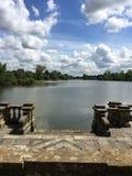 Mening van het meer Royalty-vrije Stock Foto