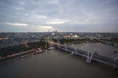 Mening van het oog van Londen royalty-vrije stock afbeeldingen