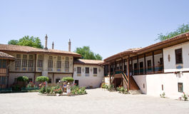 Mening van het Paleis van Khan Royalty-vrije Stock Foto