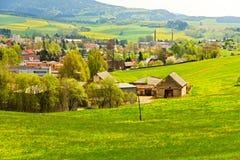 Mening van het platteland Royalty-vrije Stock Foto