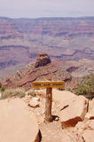Mening van het Punt van Ooh Aah in Grand Canyon Stock Foto