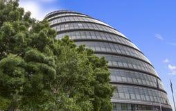 Mening van het Stadhuis van Londen Stock Afbeelding