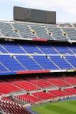 Mening van het Stadion van het Kamp Nou in Barcelona Royalty-vrije Stock Afbeelding