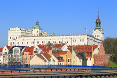 Mening van het Szczecin-kasteel in Polen Royalty-vrije Stock Fotografie