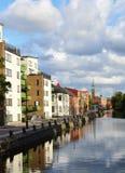 Mening van het Vallgraven-Kanaal Royalty-vrije Stock Foto