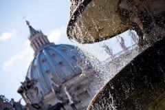Mening van het Vatikaan Royalty-vrije Stock Fotografie