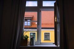 Mening van het venster Royalty-vrije Stock Afbeelding