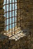 Mening van het venster royalty-vrije stock foto's