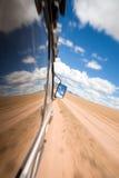 Mening van het venster van een SUV Royalty-vrije Stock Fotografie
