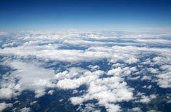 Mening van het vliegtuig Stock Afbeeldingen