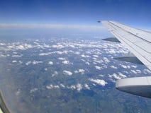 Mening van het vliegtuig Royalty-vrije Stock Afbeelding