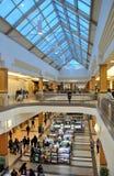 Mening van het winkelcentrum binnen Royalty-vrije Stock Foto's
