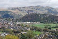 Mening van Historische Stirling royalty-vrije stock foto's