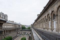 Mening van Hotel Dieu Royalty-vrije Stock Foto