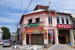 Mening van Ipoh-stad Royalty-vrije Stock Foto's