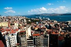 Mening van Istanboel Royalty-vrije Stock Foto