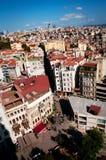 Mening van Istanboel Royalty-vrije Stock Afbeelding
