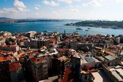 Mening van Istanboel Royalty-vrije Stock Afbeeldingen