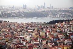 Mening van Istanboel stock foto