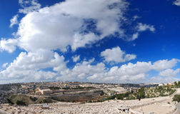 Mening van Jeruzalem Royalty-vrije Stock Foto's