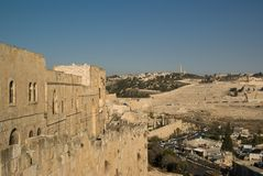 Mening van Jeruzalem Royalty-vrije Stock Fotografie