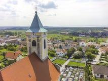 Mening van Jois in Burgenland royalty-vrije stock fotografie