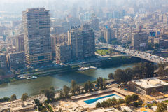 Mening van Kaïro Royalty-vrije Stock Foto