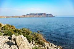 Mening van Kaap Meganom Royalty-vrije Stock Afbeelding
