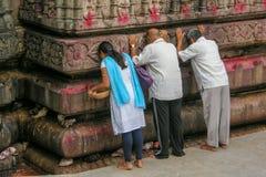 Mening van Kamakhya-Tempel, Guwahati, Assam Stock Foto's