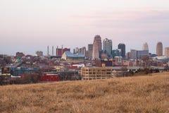 Mening van Kansas City royalty-vrije stock afbeelding