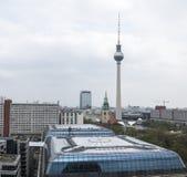 mening van Kathedraal van Berlijn, Duitsland royalty-vrije stock foto's
