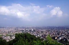 Mening van Katmandu Royalty-vrije Stock Afbeeldingen