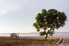 Mening van koh sichang, eiland, Thailand Stock Afbeeldingen