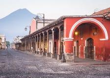 Het Centrum van de Stad van Antigua stock afbeeldingen