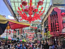 Mening van Kuala Lumpur, Maleisië Royalty-vrije Stock Foto's