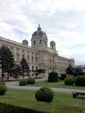 Mening van Kunsthistorisches-Museum van Royalty-vrije Stock Foto's