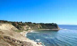 Mening van kustklip in Rancho's Palos Verdes Royalty-vrije Stock Foto's