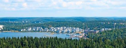 Mening van Lahti finland Stock Afbeeldingen