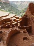 Mening van Lang Huis, Mesa Verde, Colorado Royalty-vrije Stock Fotografie