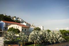 Mening van laspenas Guayaquil Ecuador Royalty-vrije Stock Foto's