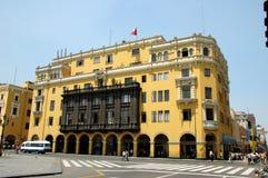 Mening van Lima Peru van de binnenstad stock afbeeldingen