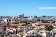 Mening van Lissabon Royalty-vrije Stock Foto's