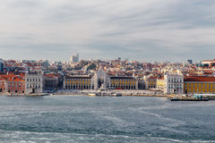 Mening van Lissabon Stock Fotografie